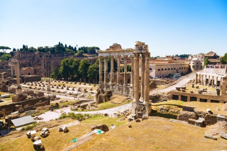 Ancient Forum in Rome Italy