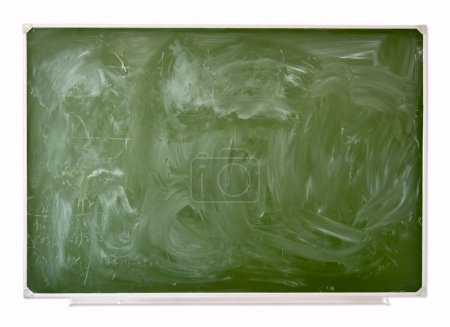 School green blackboard