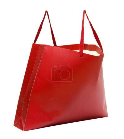 Big full shopping bag