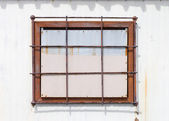 Old closed window