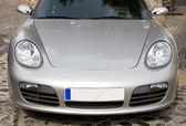 Modern sport car hood