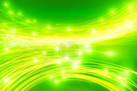 Abstract green saturated background