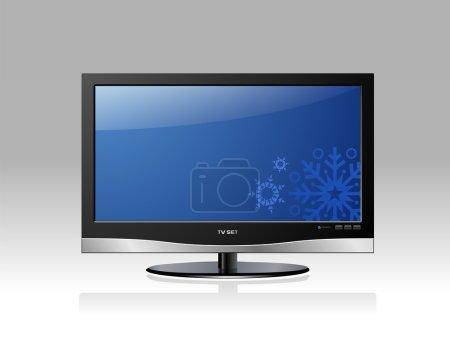 Blue Plasma TV