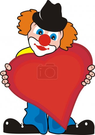 Small clown with the big heart