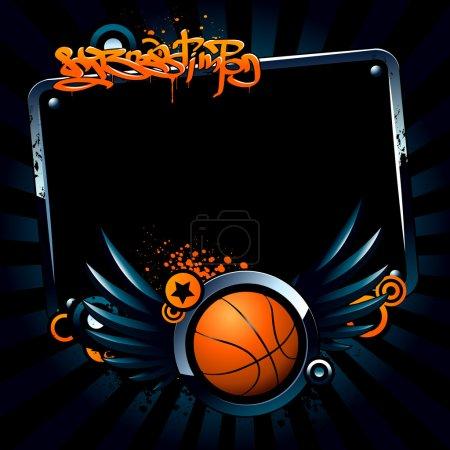 Basketball banner
