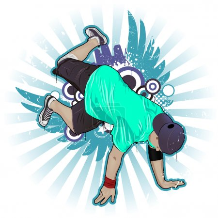 Cool image with breakdancer