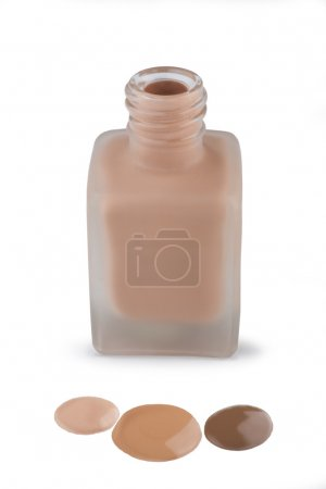 Foundation color sample.
