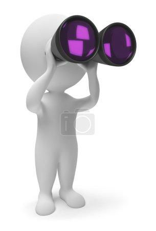3d small - binoculars