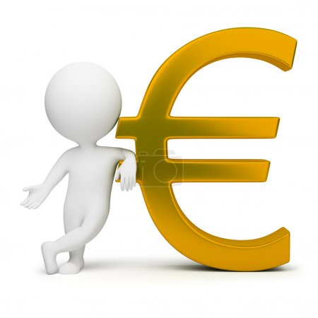 3d small - euro sign