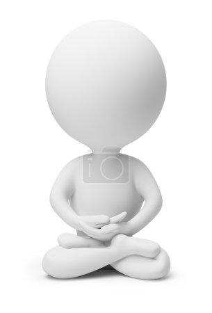 3d small - meditation
