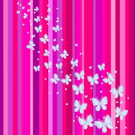 Illustration for Pink banner. Vector illustration - Royalty Free Image