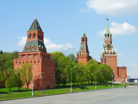 Kremlin towers in Moscow, Russia