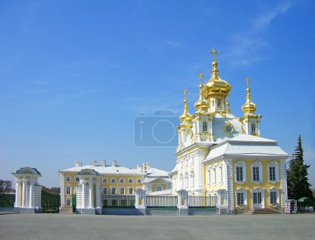 Church of the Big Palace in Peterhof