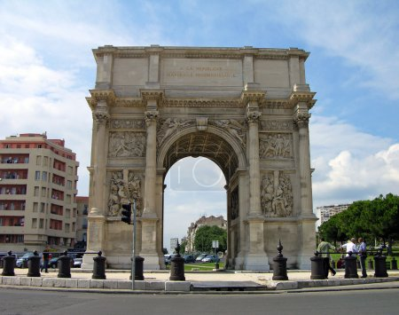 Arch of Triumph in Marseilles