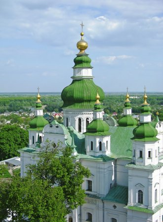 Trinity Monastery in Chernigov, Ukraine