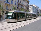 Modern tram, Nice, France
