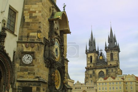 Old Town Hall and Tyn Cathedral, Prague