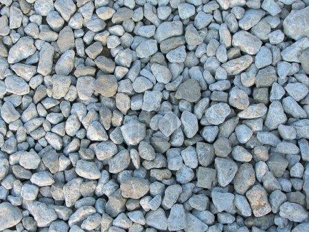 Photo pour Textures de petits cailloux, prises sur la plage - image libre de droit