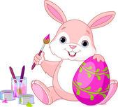 Bunny malování kraslic