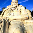 Moses sand sculpture in Kharkov at Liberty Square...