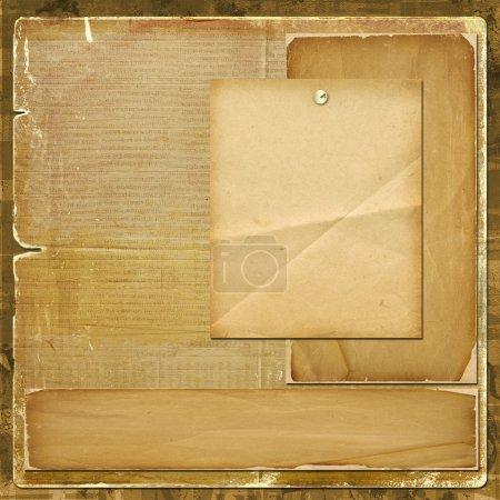 Card for invitation or congratulation in