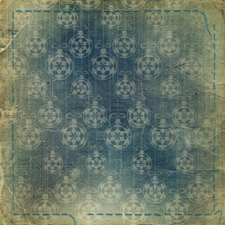 Old grunge background with spheres for n