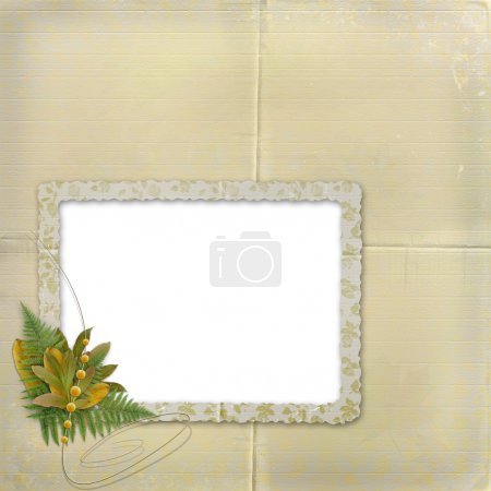Framework for a photo or invitations wit