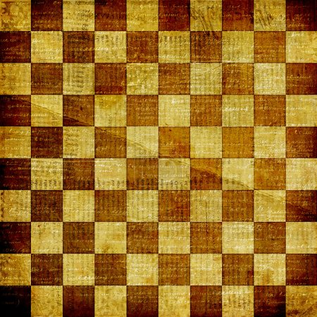 Background with chequered chess
