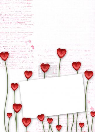 Greeting Card to St Valentine Day