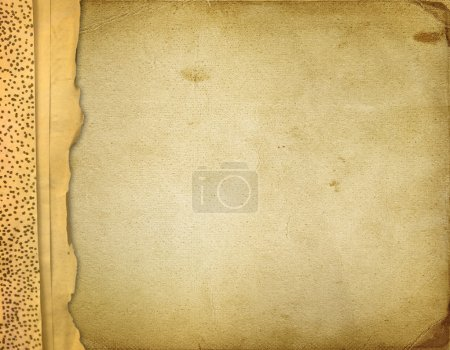 Photo for Old grunge photoalbum for photos or cards - Royalty Free Image