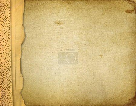 Photo pour Vieux photoalbum grunge des cartes ou des photos - image libre de droit