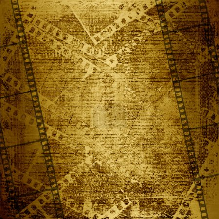 Old paper and grunge filmstrip