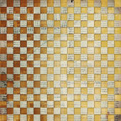 Vintage abstract background with chequered chess
