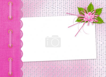 Card for invitation or congratulation