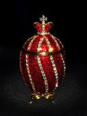 Faberge Egg in black
