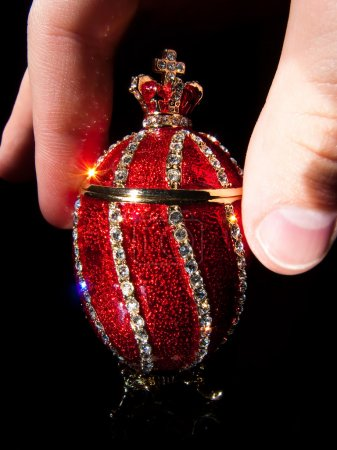 Faberge Egg In hands