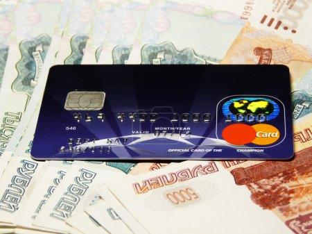 Credit card, money