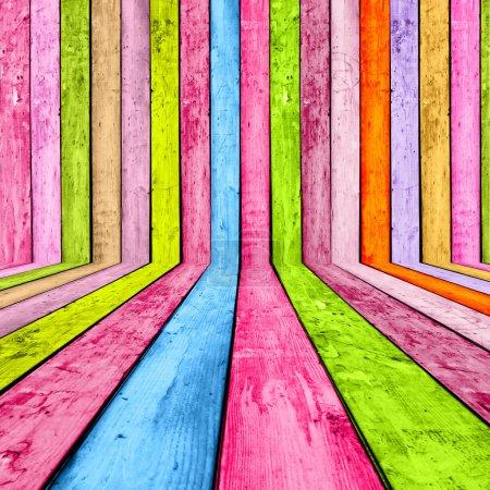 Photo pour Un fond de bois clair en couleurs caramel - image libre de droit