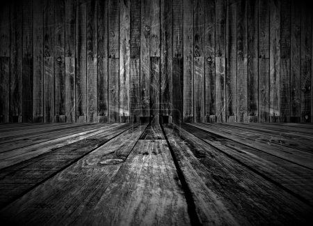 Vintage Wood Room