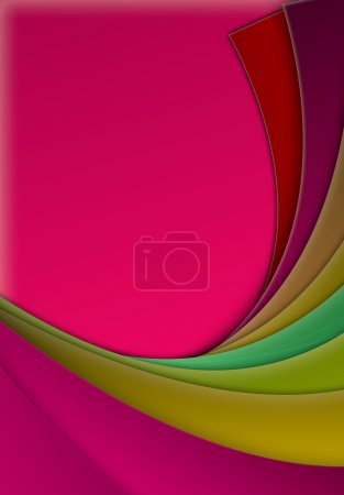 Abstract Background in Red Colors