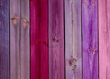 Colorful Wood Planks