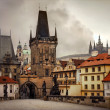 Charles Bridge is a famous historical bridge that ...
