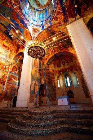 Interior of Suzdal church