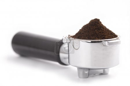 Filter holder for coffee machine
