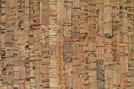 Natural cork texture.