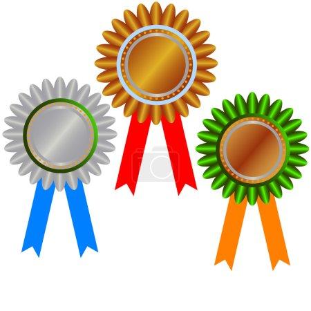 West gold medal: champion medals