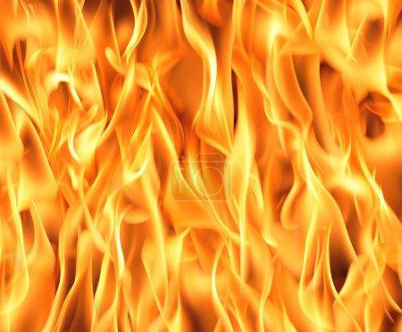 Foto de Fuego llamas de fondo. Imagen de alta resolución . - Imagen libre de derechos