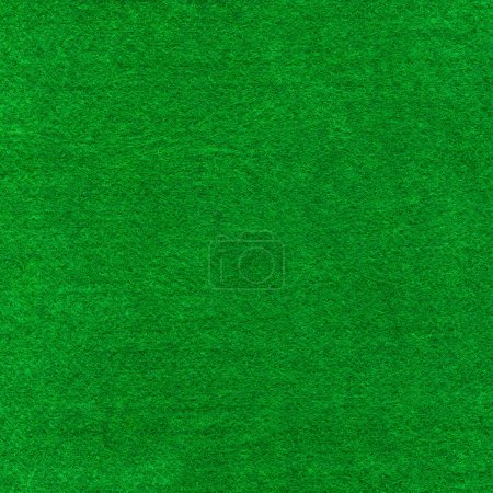 Green poker table cloth.