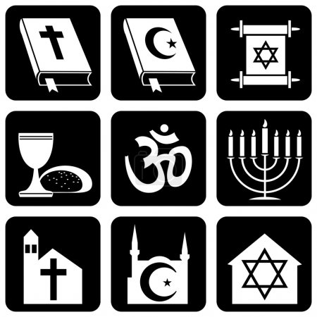 Icons of religious