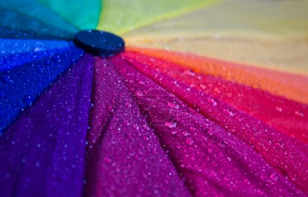 Photo pour Parapluie multicolore close-up - image libre de droit